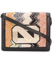 Missoni Small Zigzag Crochet Bag - Multicolour
