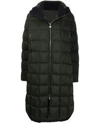 Ienki Ienki Corn Quilted Hooded Coat - Green