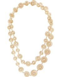 Rosantica Spiral Chain Necklace - Metallic