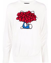 Undercover Pull Hello Kitty - Blanc