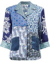 Pierre Louis Mascia - Multi-print Shirt - Lyst