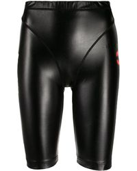 Alexander Wang High Rise Shorts - Black