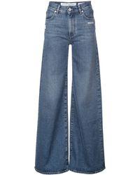 Off-White c/o Virgil Abloh Klassieke Flared Jeans - Blauw