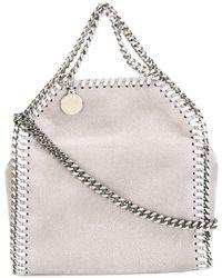 Stella McCartney Bolso de hombro Falabella pequeño - Gris