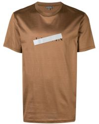 Lanvin - Censor Strip T-shirt - Lyst
