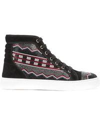 Louis Leeman | Apache Straus Hi-top Sneakers | Lyst