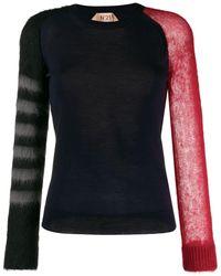 N°21 - パネル セーター - Lyst