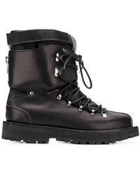 Sacai Stiefel mit Schnürung - Schwarz