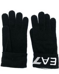 EA7 ロゴ グローブ - ブラック