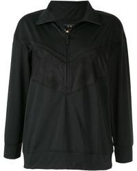 Alala メッシュパネル スウェットシャツ - ブラック