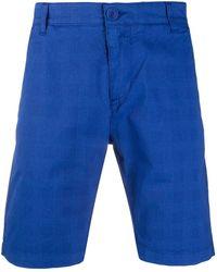 Karl Lagerfeld リブニット セーター - ブルー