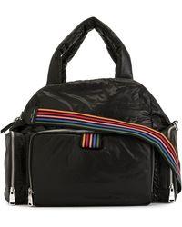 Sonia Rykiel Rainbow Strap Tote Bag - Black