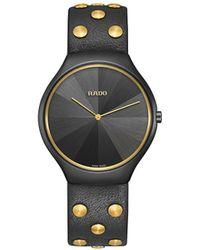 Rado Наручные Часы True Thinline Studs 39 Мм - Черный
