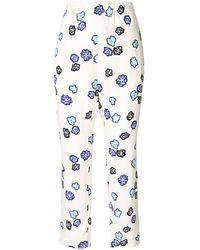 Marni - Pantaloni a fiori - Lyst
