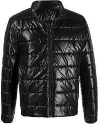 Fay キルティングジャケット - ブラック