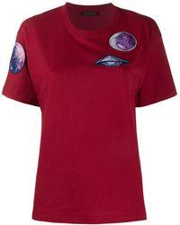 Mr & Mrs Italy - T-shirt à détails de patchs - Lyst