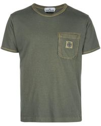 Stone Island - チェストポケット Tシャツ - Lyst