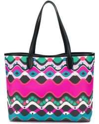Emilio Pucci - Abstract Print Shopping Bag - Lyst