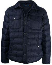 Polo Ralph Lauren Padded Coat - Blue