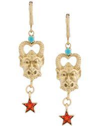 Iosselliani - Puro Satyr Earrings - Lyst