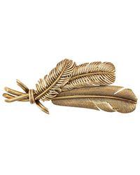 Hermès Spilla a tre foglie 1955 - Metallizzato