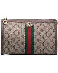 Gucci - オフィディア GGスプリーム コスメポーチ - Lyst