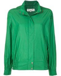 Dior ロゴ スポーツジャケット - グリーン