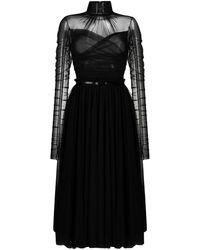 BROGNANO - シャーリング ドレス - Lyst