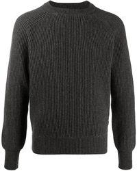 Woolrich リブニット セーター - グレー