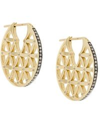 Noor Fares - Flower Of Life Chandbali Earrings - Lyst
