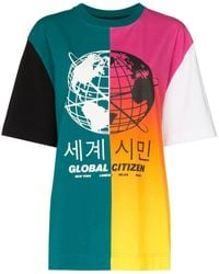 House of Holland Globe Graphic T-shirt - Green
