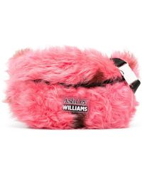 Ashley Williams Logo Patch Belt Bag - Pink