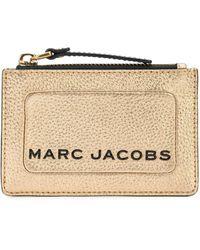 Marc Jacobs Кошелек The Snapshot - Металлик