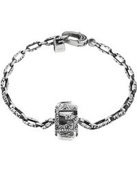 Gucci - Bracelet With Square G Cube - Lyst