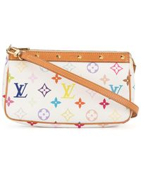Louis Vuitton Borsa a spalla 2way - Bianco