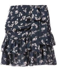 Cinq À Sept - Floral Print Skirt - Lyst