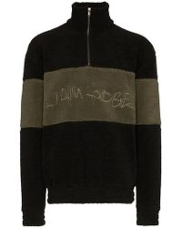Liam Hodges - Hand Written Embroidered Fleece Sweatshirt - Lyst
