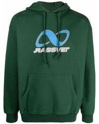 Rassvet (PACCBET) ロゴ パーカー - グリーン