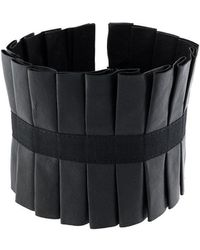 Masnada - Pleated Choker Necklace - Lyst
