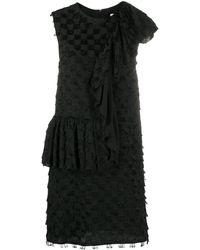 MSGM - ワンショルダー ドレス - Lyst