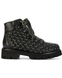 Baldinini - Quilted Boots - Lyst
