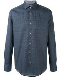 Pal Zileri - Fine Print Shirt - Lyst