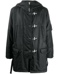 Fay Hooded duffle coat - Nero