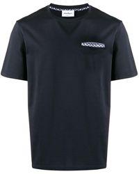Ferragamo Gancini Detail T-shirt - Blue
