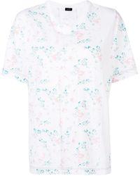 JOSEPH プリント Tシャツ - ホワイト