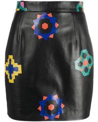Kirin フローラル スカート - ブラック