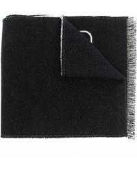 Valentino Valentino Garavani Vロゴ シグネチャー スカーフ - ブラック