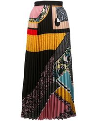 Mary Katrantzou - Multi-print Pleated Skirt - Lyst