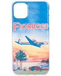 Fiorucci Sunset Iphone 11 Case - Blue