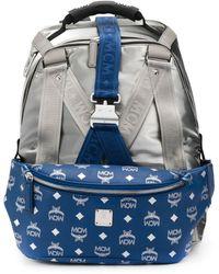 MCM Jemison 2-in-1 Medium Backpack - Metallic